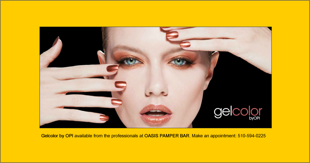 Gelocolor by OPI available from the professionals at Oasis Pamper Bar